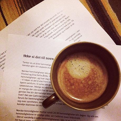 Så langt ser artikkelen som kommer på trykk i ROS sitt melemsblad slik ut. Korrekturlest til en varm kaffe...