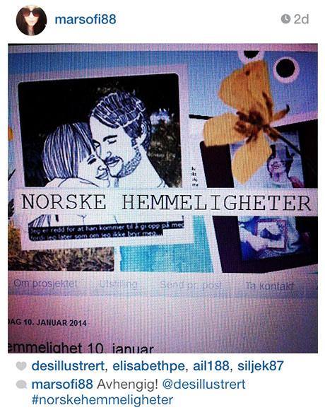 #norskehemmeligheter på Instagram viser f.eks at er avhengig av NORSKE HEMMELIGHETER!