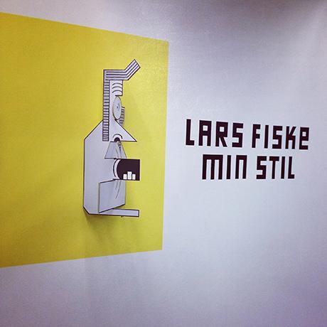 Lars Fiske har utstilling hos Grafill i R21 fram til 24. mars.