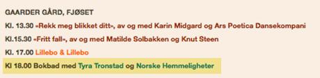 Klokka 18 i morgen kan du høre foredrag om NORSKE HEMMELIGHETER