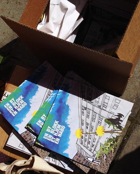 200 eksemplarer rykende, ferske fra trykken!