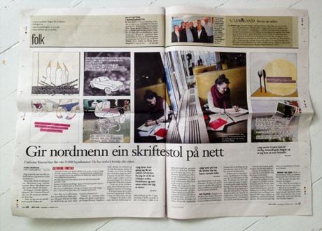 22. oktober 2012 hadde Vårt Land 2-siders oppslag om NORSKE HEMMELIGHETER.