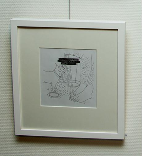 Ferdig påkledd original i hvit trelist og syrefritt passepartout fra FineArt. Klar for veggen og dine blikk.