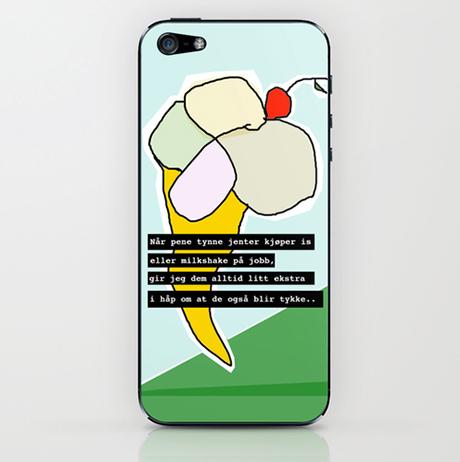 Mobildeksel til iPhone. (flere modeller)