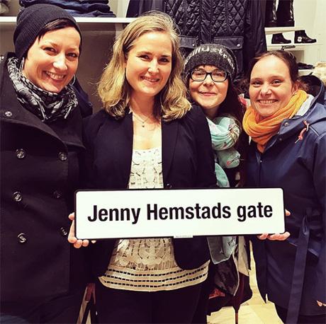 Tre som øyner muligheten for å få seg sidegate nå som Jenny har fått en gate for seg sjøl!