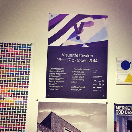 Visuelt på plakaten! Med spennende foredrag, workshops og fest såklart!