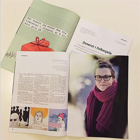 21_Krigsropet_magasin_illustrasjon_desillustrert_Cathrine_Louise_Finstad_tekst