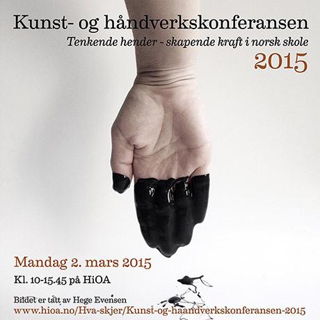 Mandag 2. mars er det kunst - og håndverkskonferanse