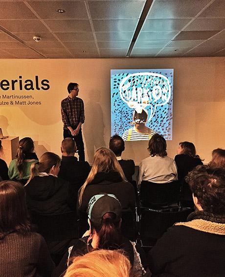 Leder av Grafill Illustrasjon, Eivind Vetlesen ønsker velkommen!