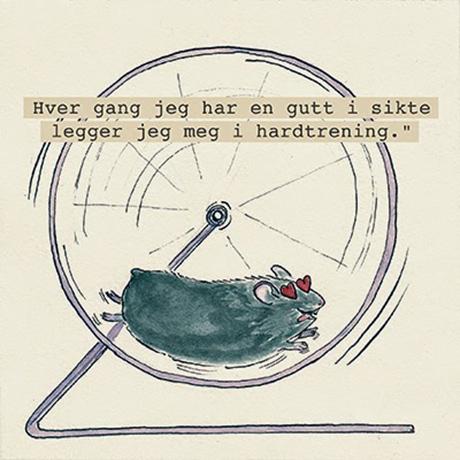 Illustrasjon av Olivia Jørgensen for NORSKE HEMMELIGHETER.