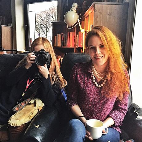 Journalist Julia Renate Ingebrigtsen og fotograf Karin Beate Nøsterud