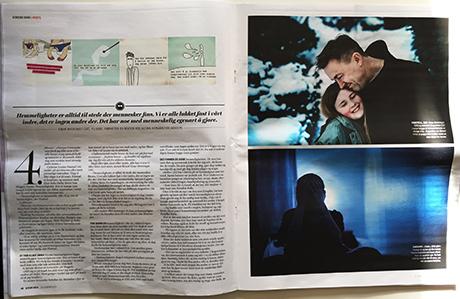 Flere var nevnt i artikkelen som handlet om hemmeligheter. NORSKE HEMMELIGHETER gjennomillustrerte saken