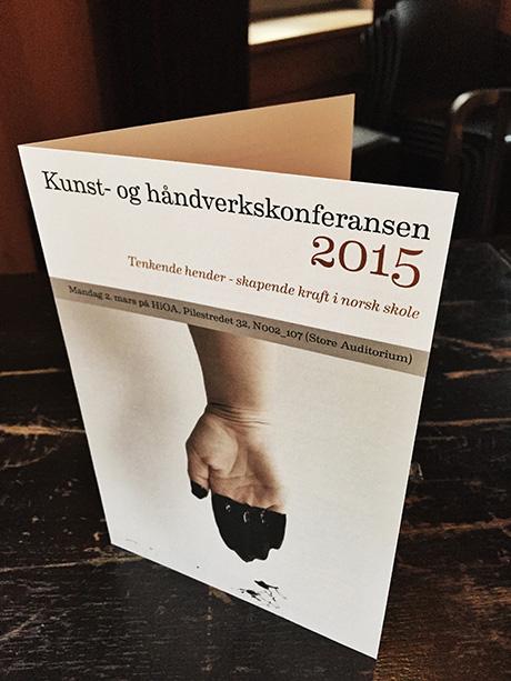 Årets Kunst- og håndverkskonferanse hadde tittelen «Tenktende hender- skapende kraft».