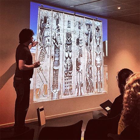 """Utendørskurator Viktor Gjengaar snakker om urban samtidskunst og sier blant annet """"Hvis arbeidene blir omfavna av publikum er det offentlig kunst"""""""