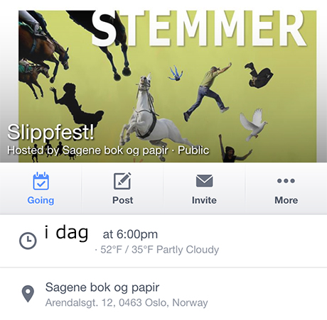 Event på facebook