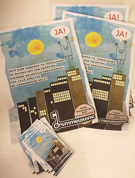Plakater og flyers for Drømmeukene ... en drøm!