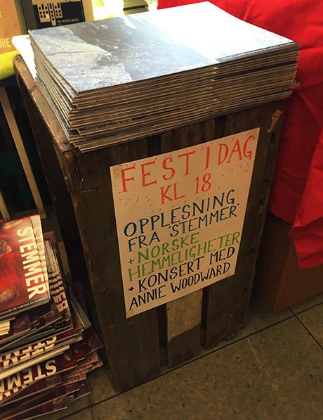 Tidsskriftet Stemmer hadde lansering på den lokale bokhandelen på SAgene, Sagne Bok og Papir tideligere i måneden