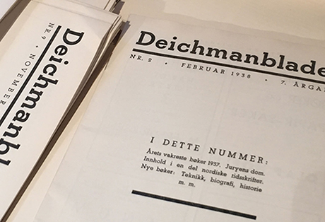Da Deichman hadde bokloppis for en liten stund siden kunne man fråtse i gamle årganger av Deichmanbladet. Særlig gøy med denne som hadde hovedsak om Årets Vakreste Bøker.