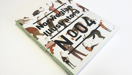Her er Norwegian Illustrators no 4, snart kommer neste i rekka...