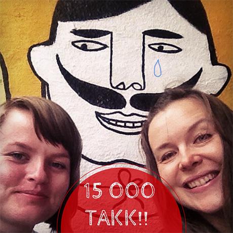 15 000 får hver dag NORSKE HEMMELIGHETER rett på mobilen via Instagram! Vi er så glade!