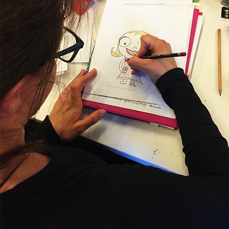 05h_illustrasjon_HiOA_digital_kunst_CathrineLouiseFinstad_desillustrert_illustrasjon_foredragsholder