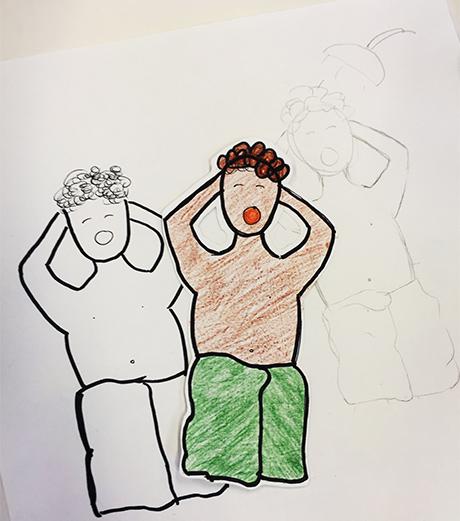 28h_dusj_HiOA_digital_kunst_CathrineLouiseFinstad_desillustrert_illustrasjon_foredragsholder