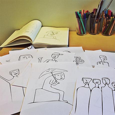 27a_dokumentasjonsprosjekt_foredrag_foredragsholder_desillustrert_cathrinelouisefinstad_illustrasjonsagent